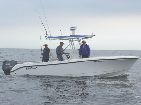 long island fishing charters our boat